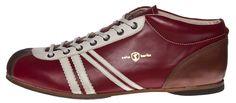 Zeha Berlin - Carl Hässner - Liga - 855.02 bordoeaux - burgundy - wine red rosso vino - vinaccia  - the DDR inspired 100 % leather sneaker - made in EU   www.zeha-shop.de