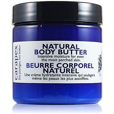 Carapex Natural Body Butter Heavy Duty Hand Cream Intensive for Extremely Dry Skin Super Dry Hands Cracks Chapped Hands Unscented Paraben Free 4oz -- Check this awesome product by going to the link at the image.