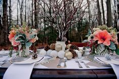 We would not want something this rustic, but the colours and flowers in the bouquets are very pretty.