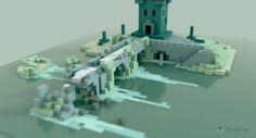 Ex Machina - le blog // pixel - voxel art                                                                                                                                                     More