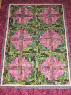 Forest Quilt by ERA Boutique by ERABoutique1 on Etsy, $175.00