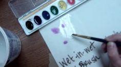 Voici Watercolor techniques par sur Vimeo, le site d'hébergement des vidéos de haute qualité et de ceux qui les aiment.