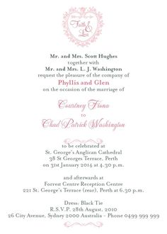 Wedding invitation samples wording april 14 2017 pinterest wedding invitations wording stopboris Images