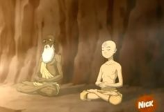 """In a TV show called """"Avatar: The Last Airbender"""" a character is trying to reach his spiritual potential, but can't due to emotional and psychological blockages he has. He is then guided through the emotions associated with the 7 energy centers of the body and is show how to open the"""