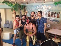 Okills en rueda de prensa del Fuerza Rock Festival
