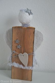 Floating Shelves, Bottle Opener, Wood, Home Decor, Advent, Christmas Angels, Wooden Angel, Homemade Christmas Gifts, Christmas Deco