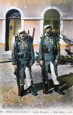 Two French Foreign Legionnaires 20th century