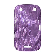 Crumpled Foil Lilac BlackBerry Curve 9380 BlackBerry Curve 9380 Hardshell Case