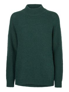 Turtleneck knit from VERO MODA. Style it with a pair of black or blue denim jeans for a casual everyday look.
