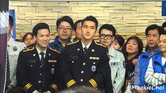 160329 Siwon -Seoul police evenat  At National Police Hospital