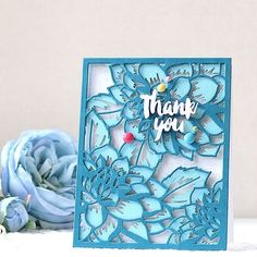 One more card for the @altenewllc April Release Blog Hop! #altenew #altenewflower #altenewlayereddie #papercraft #cardmaking #stamping #handmade #card #diy #flowers #floral #thankyou #핸드메이드 #카드 #꽃 #스탬핑 #수제카드