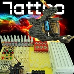 1 Top Machine Tattoo Kit