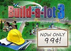 Weekly SALE!  Pack your bags and head to Europe in Build-a-lot 3: Passport to Europe. Today through July 28th, this hit city-building strategy game is only 99¢ on Google Play and Kindle!   Don't miss this opportunity to take your real estate empire overseas.    Learn more: http://www.g5e.com/sale