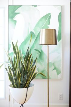 Do you and your fiancé have two very different home decor styles? @100layercake advises on how to create cohesive modern-glam decor in your home.