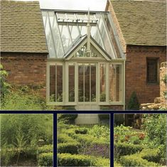 Centred between the outbuilding and potting shed, this beautifully craftedVictorian greenhouse is in the perfect position at the head of the kitchen garden and creates a stunning focal point to this potager garden. The lead grey colour aluminium roof cappings and leaded ridge create a maintenance-free roof.