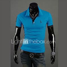 ef01d580f5007 10 colors S-7XL Hot Sale Men s Plus Size Casual Daily Simple Summer  PoloSolid