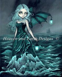 Sea Beacon - Jasmine Becket-Griffith