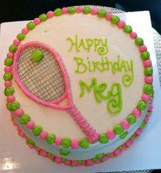 Macy Cakes: Tennis Cake                                                       …
