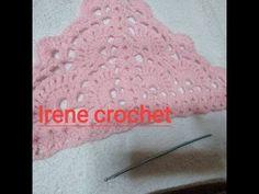 εύκολο σχεδιο για σάλι με βελονάκι μέρος 3.easy design for shawl with crochet part 3.irene crochet - YouTube Crochet Shawl, Shawls, Youtube, Crochet Scarfs, Youtubers, Youtube Movies