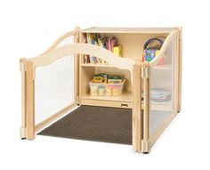KYDZ Suite® IMAGINATION NOOK WITH STORAGE | Honor Roll Childcare Supply - Early Education Furniture, Equipment and School Supplies.