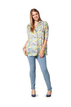 Burda - 6787 blouse, vest