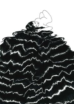 From the ethereal aesthetic and celestial setting to the powerful narratives that unfold, Sivan Karim's otherwordly illustrations are confident in portraying Karim's inspirations of nature, dreams and personal experiences, predominantly… Illustrations, Illustration Art, Henn Kim, Framed Art Prints, Canvas Prints, Online Drawing, Drawing Artist, Dream Art, Minimalist Art