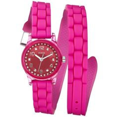 Guess wrap silicone watch!