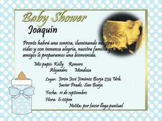 invitaciones de baby shower originales - Buscar con Google