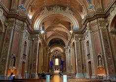 Milan (Italy) - Interior of the Church of Santa Francesca Romana
