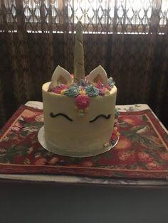Unicorn cake for Kadence
