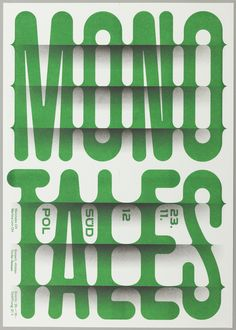 Poster, Monotales, 2012 | hqyx | Visits | Collection of Cooper Hewitt, Smithsonian Design Museum
