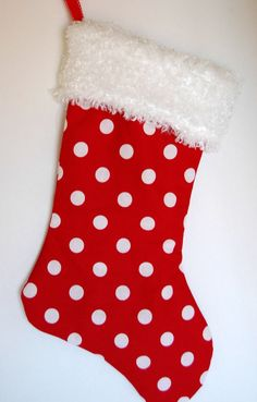 Dog Christmas Stocking With Your Dog's Name Custom by miascloset ...