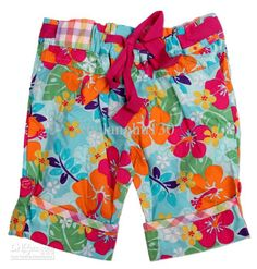 M2813# Big Flower Boys Beach Shorts Summer Kids Casual Wear Fashion Tropical Style Shorts for Child with $6.17-7.03/Piece|DHgate
