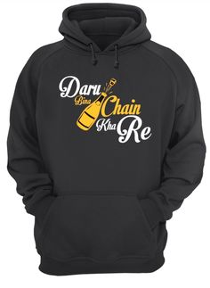 Daru Bina Chain, Hoodies, Sweaters, T Shirt, Fashion, Supreme T Shirt, Moda, Sweatshirts, Tee Shirt