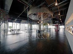 Oficinas LEO por LLLab. Fotografía © Peter Dixie.