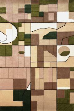 Florian Pucher Turns Aerial Photos into... Landcarpets   Yatzer