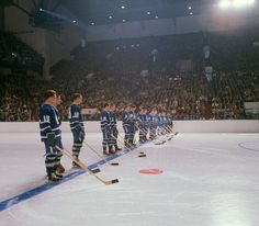 Maple Leaf Gardens is seen in the late 1960s.