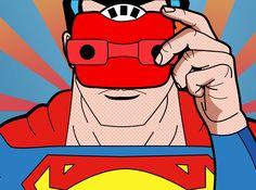 Our artists: Mark Ashkenazi - Superman - www.customly.com