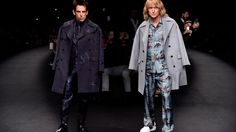 Derek Zoolander and Hansel just posed at a Paris fashion show