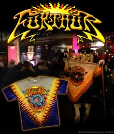 FURTHUR (Grateful Dead) T-Shirt Design  www.daniellefigel.com