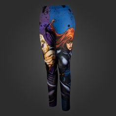 NEED THESE! Welovefine:Hawkeye and Black Widow Leggings