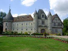 Saint-Germain-de-Livet (14. Calvados) - Castle / Schloss / Château