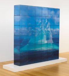 "Teresita Fernández - ""Quiet Ice (Blue)"", 1968"