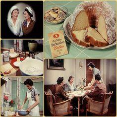 """Was tun, wenn plötzlich Besuch kommt"" - Dr. Oetker Werbefilm mit Frau Renate, 1954, Oetker Firmenarchiv (OeFA) // #OetkerHistory #Retro #Werbung Retro Recipes, Main Dishes, Retro Food, Housewife, Vintage, Youtube, Film, Photos, Product Engineering"