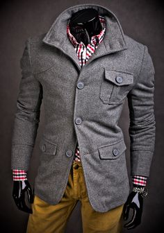 Few men could pull this off, but the ones that could would rock it.