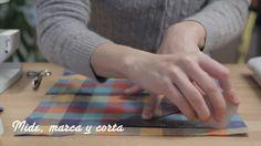 Manopla de cocina - DIY - peSeta, via YouTube.
