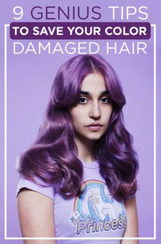 9 Genius Tips To Save Your Color-Damaged Hair