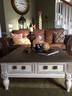 chalk paint coffee table Pinteres