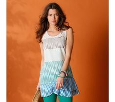 Pruhovaná tunika | blancheporte.cz #blancheporte #blancheporteCZ #blancheporte_cz #moda #fashion #exkluzivni #exclusive