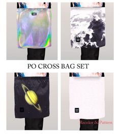 PO cross bag SET by POsims - Sims 3 Downloads CC Caboodle